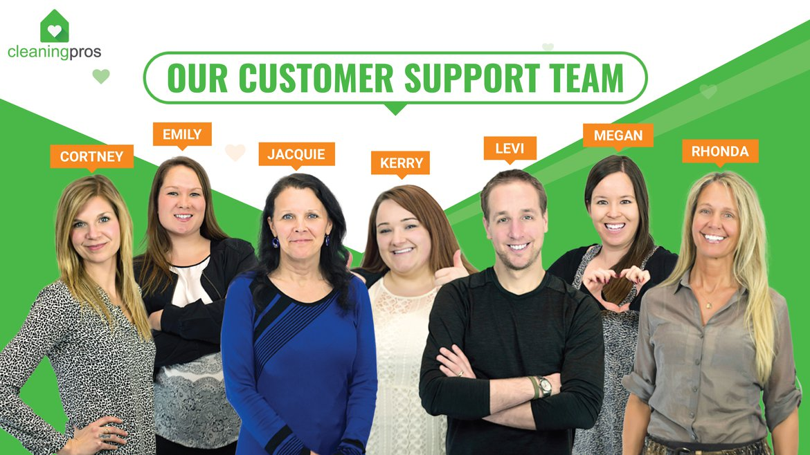 CleaningPros Head Office Support Team